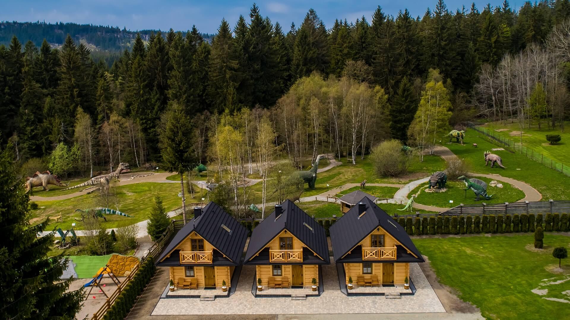 Domki w Górach Stołowych